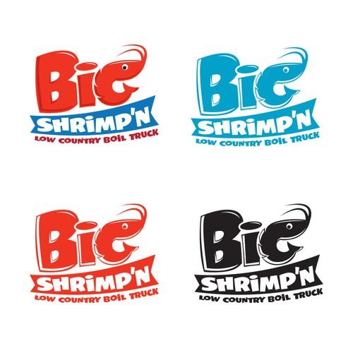 Big Shrimp'n Logo