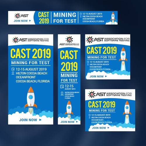 Bannder Ad for CAST 2019