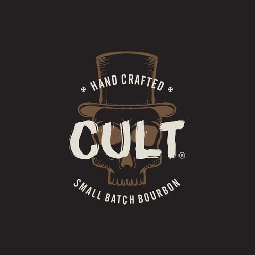 Concept for logo Cult Bourbon