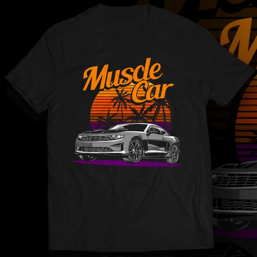 Design an awesome car styling t-shirt!