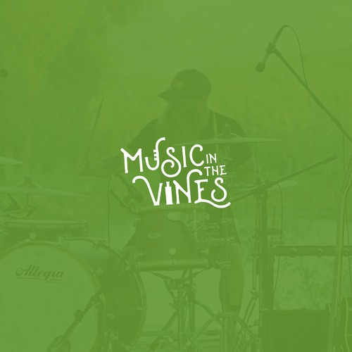 Music in the Vines logo