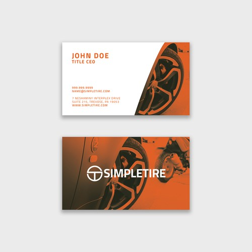 SIMPLETIRE - BUSINESS CARD