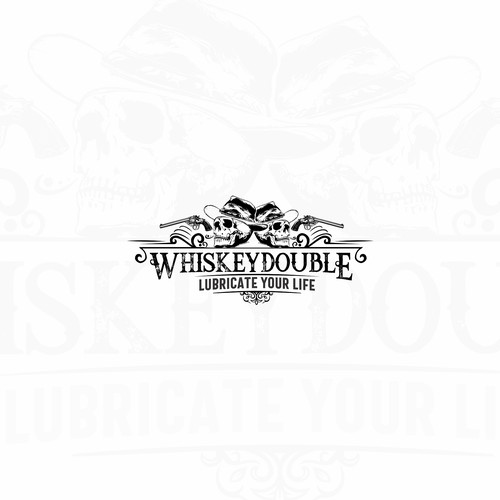 Logo for whiskey double