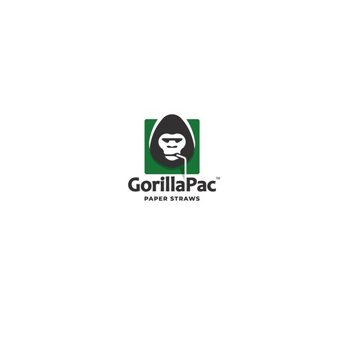 Gorilla Paper Straws
