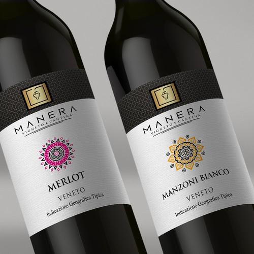 Wine Label Manera