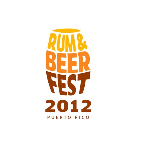 New logo for Rum & Beer Fest 2012 - Puerto Rico