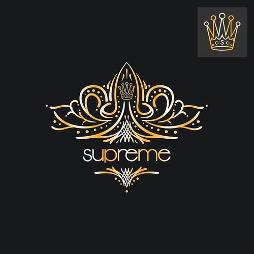 """Luxury logo for """"Supreme"""" Vape Pen"""