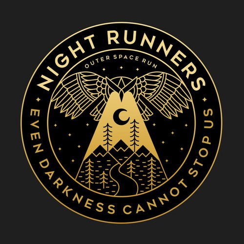 Night Runners concept for Outer Space Run