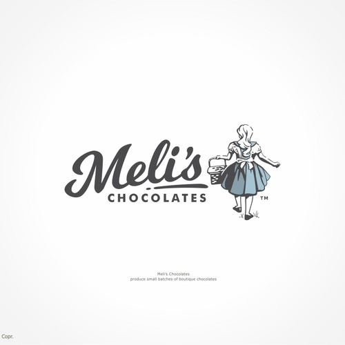Retro inspired design for a chocolate company .. portraying a life more simple