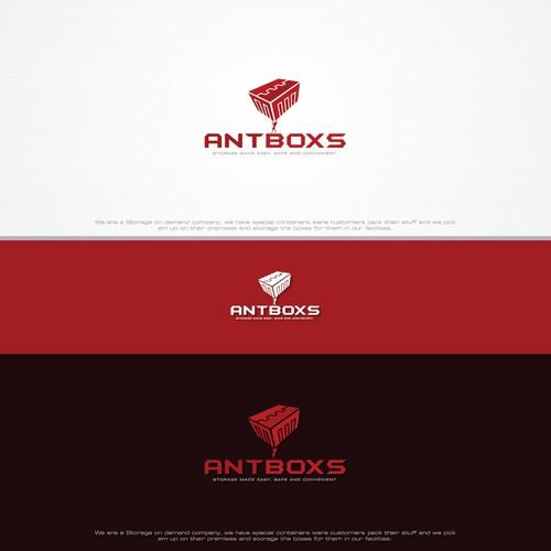 Geometric logo for AntBoxs