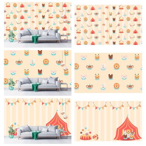 wallpaper for children's room