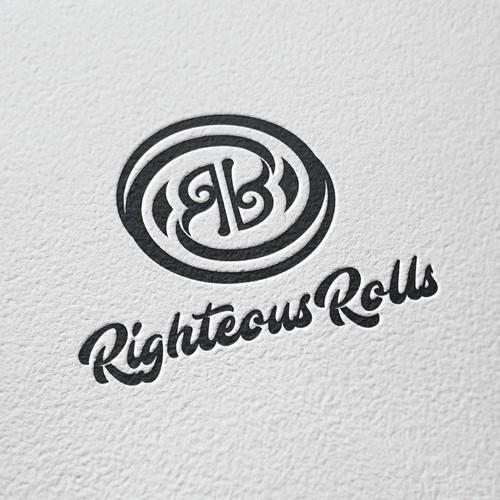 Righteous Rolls Logo Design