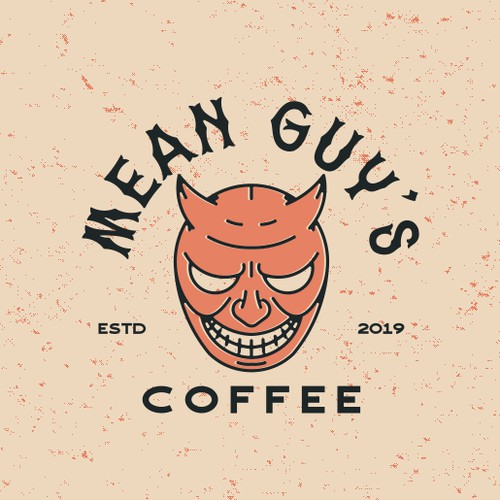 Mean Guy retro logo
