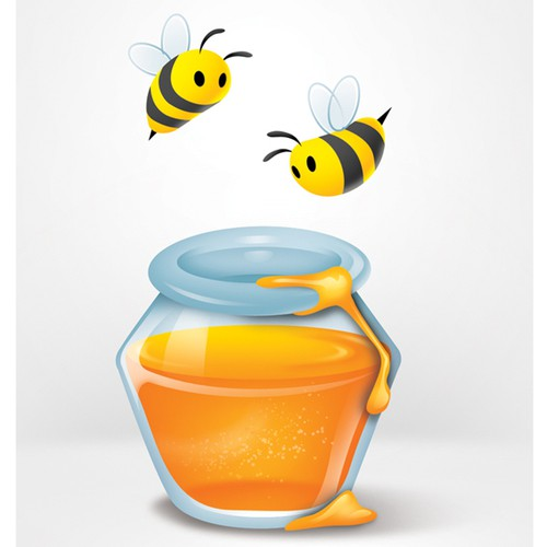 """A series of 10 images / illustrations on a """"honeypot"""" theme"""