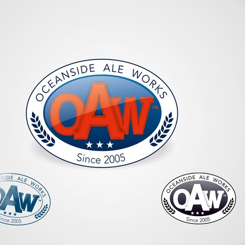 Create the logo for Oceanside Ale Works