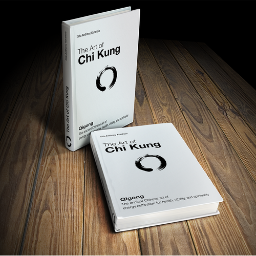 book or magazine cover for Flowing Zen