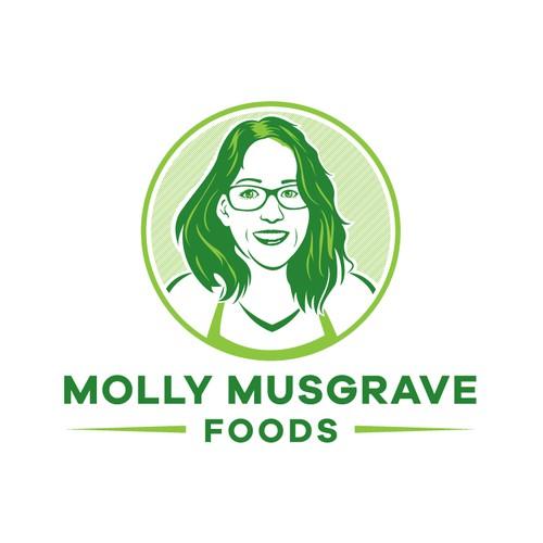 Molly Musgrave Foods Logo Design