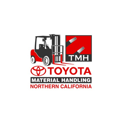 Forklift Logo Design for toyota