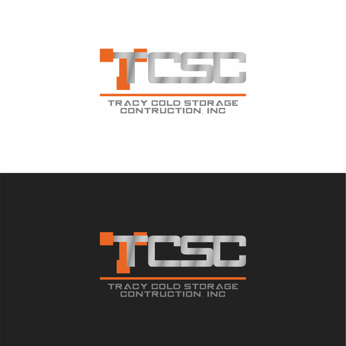 "Create an Industrial Logo For ""Tracy Cold Storage Construction, Inc."""