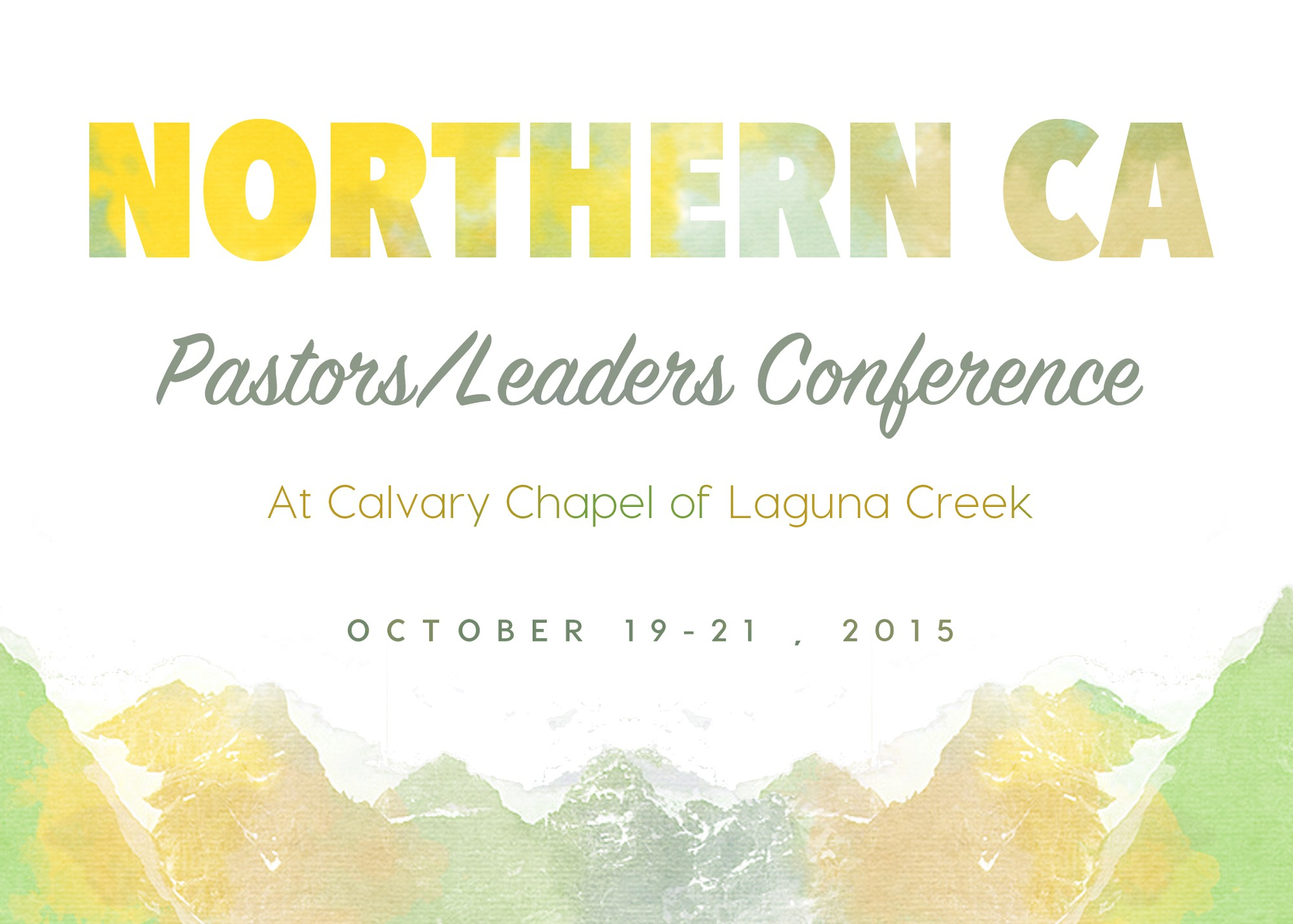 Looking for some design help for our ccnorcal conference promotion