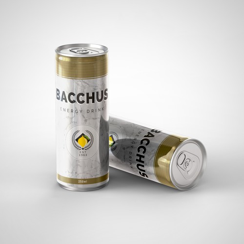 Concept for Energy Drink Can