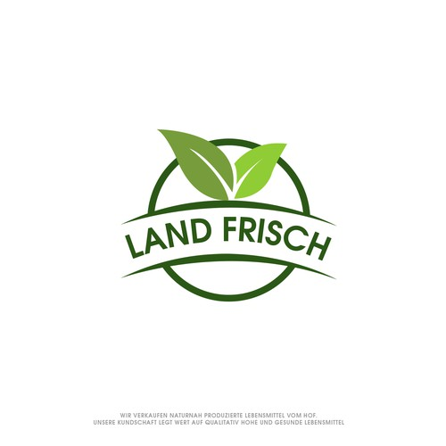 Abstract Logo for LAND FRISCH