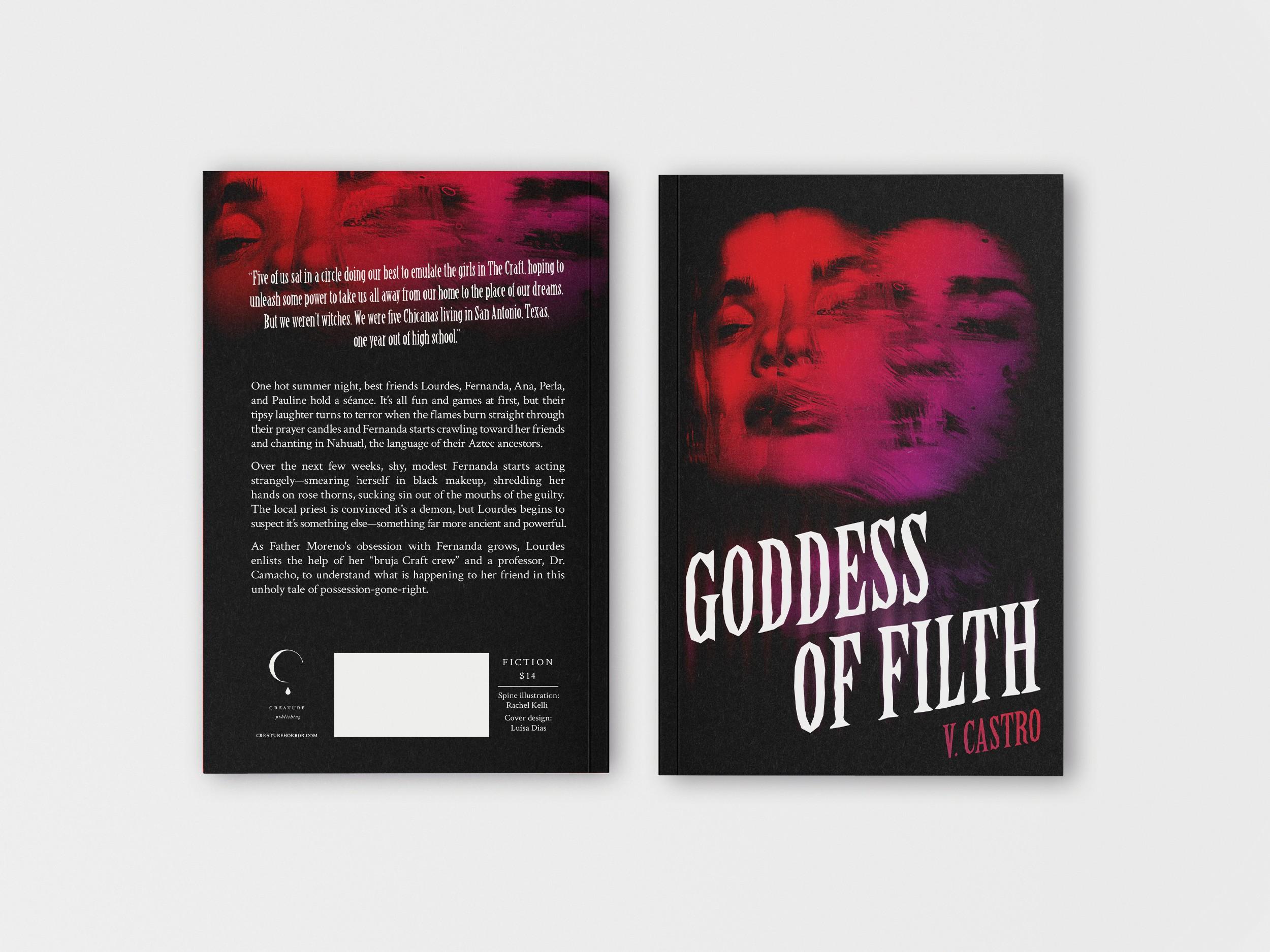 Book Cover for Latinx Feminist Horror Novella