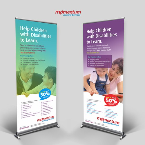 Banner Expo for Training Education