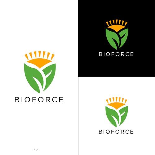 LOGO DESIGN FOR BIOFORCE
