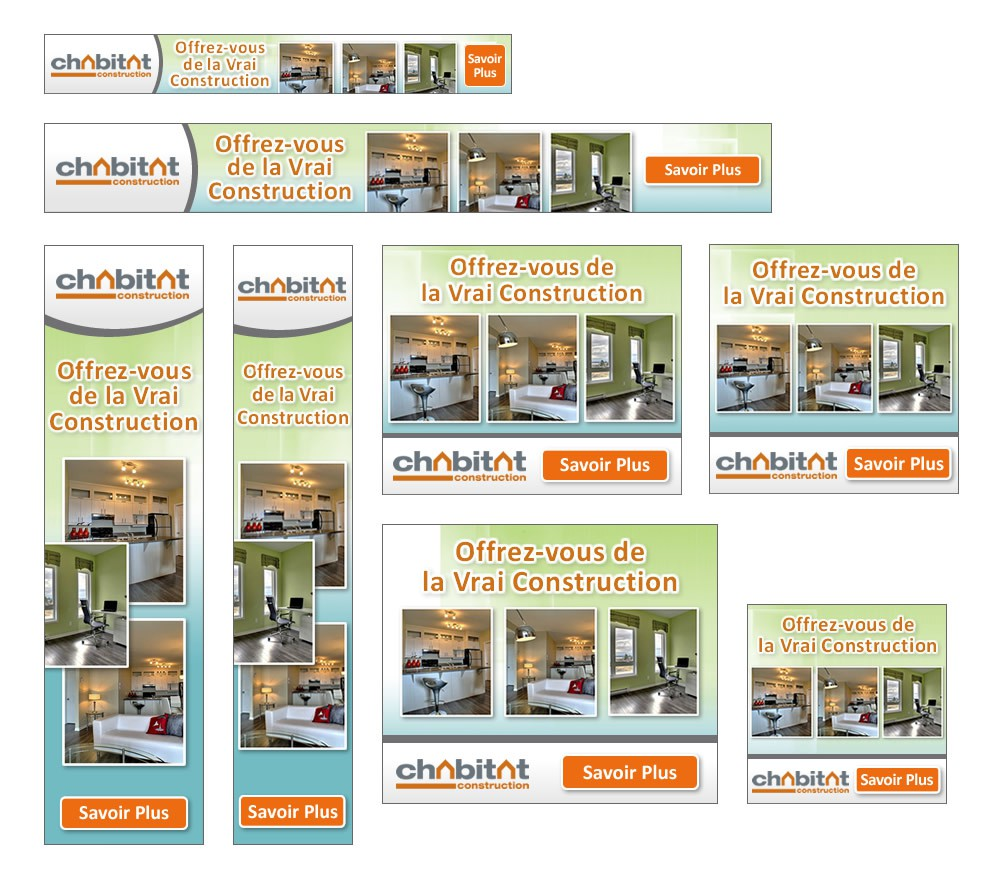 New banner ad wanted for Chabitat Construction