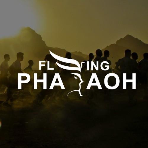 Logo concept for Flying Pharaoh Sprint Team