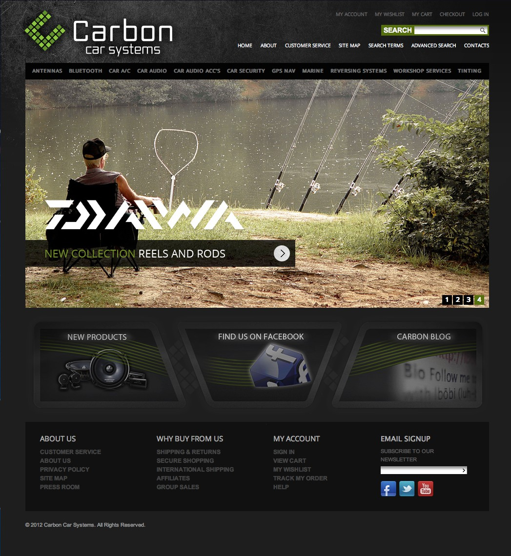 Help Carbon Car Systems with a new banner ad