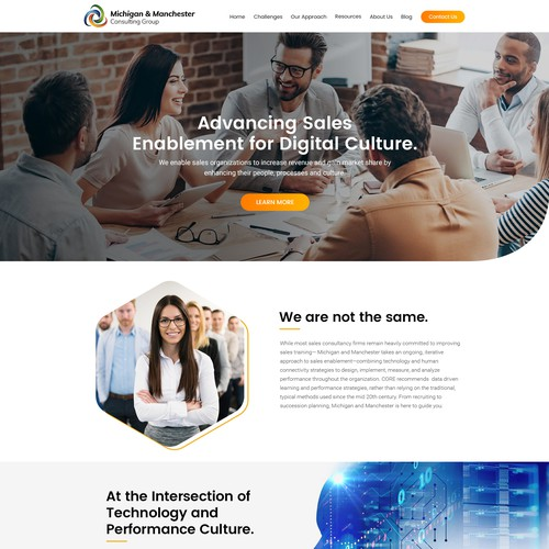 Michigan & Manchester Website Design