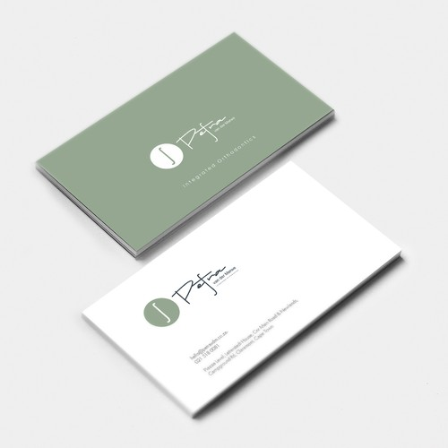 Logo for Orthodontist in the cosmetic dentistry