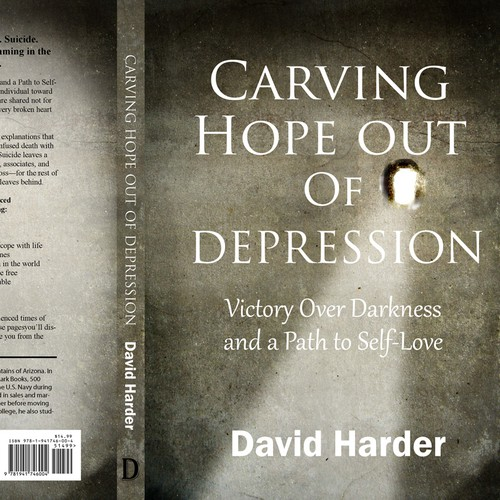Create a cover that will sell this importand work on depression.