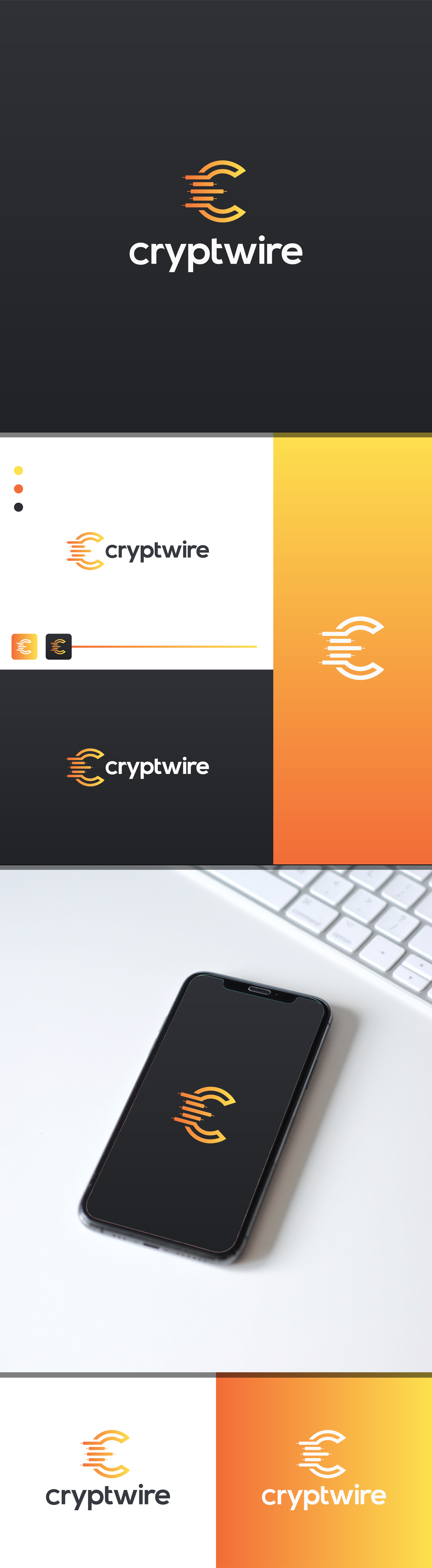 Energetic logo for a cryptocurrency trading analysis platform