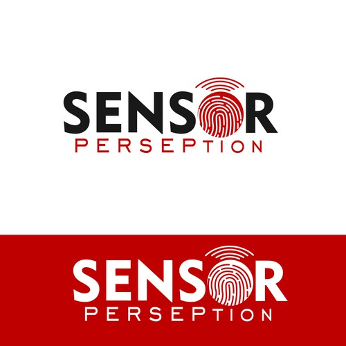 logo design for company sensor Perseption