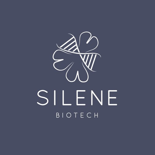 Logo for biotech company