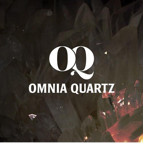 No nonsense logo for manufacturer of quartz surfaces.