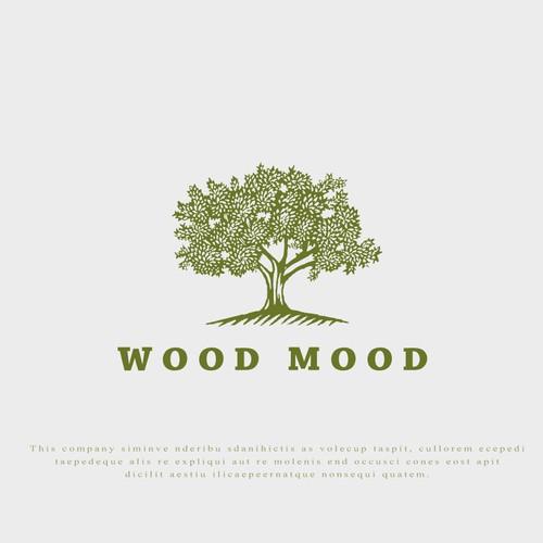 Logo for Wood Mood.