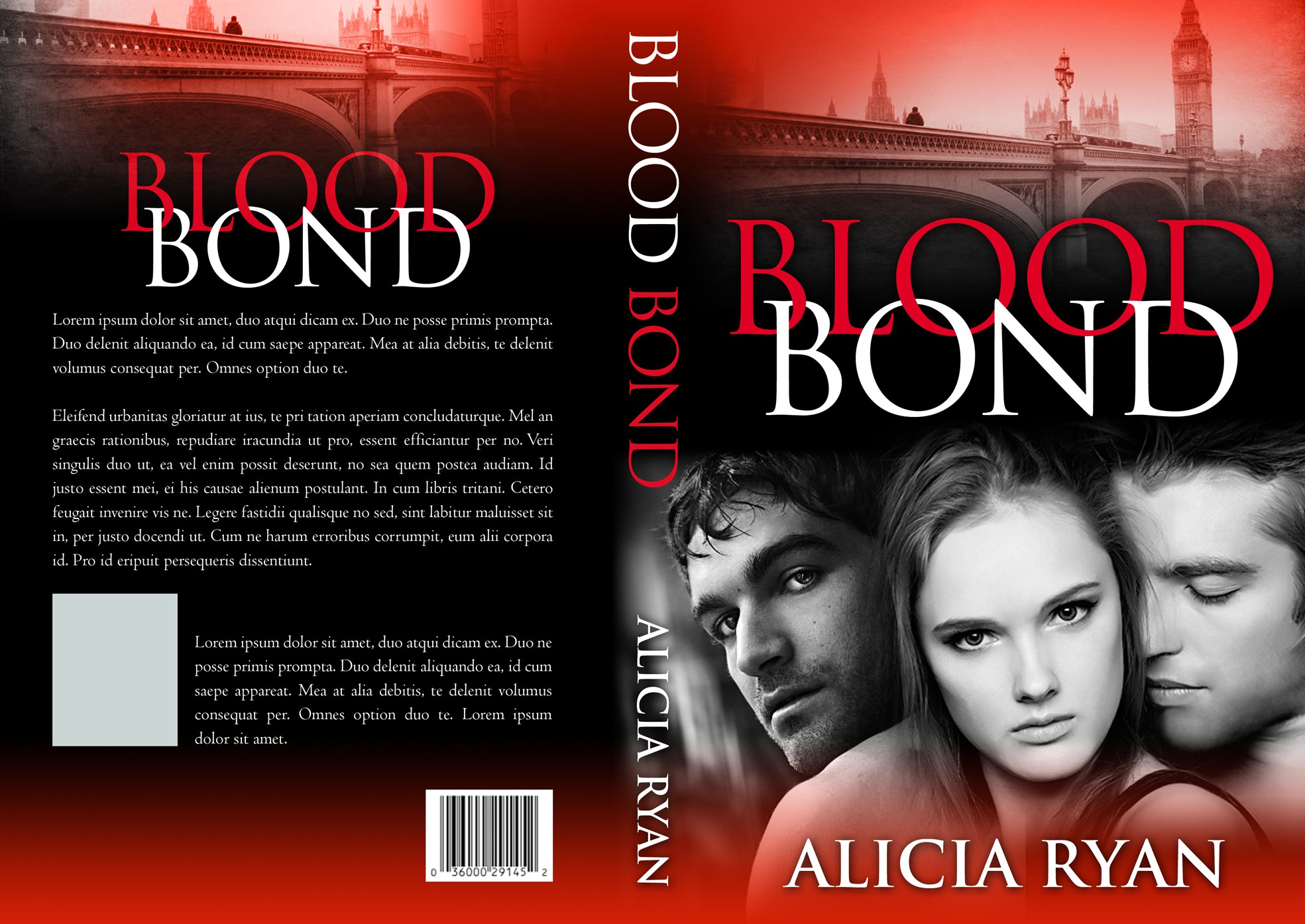 Create an Engaging Book Cover for Paranormal MMF Romance