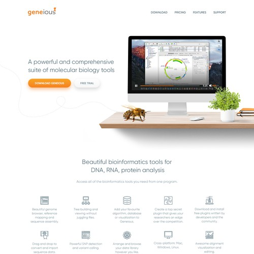GENEIOUS - bioinformatics software platform