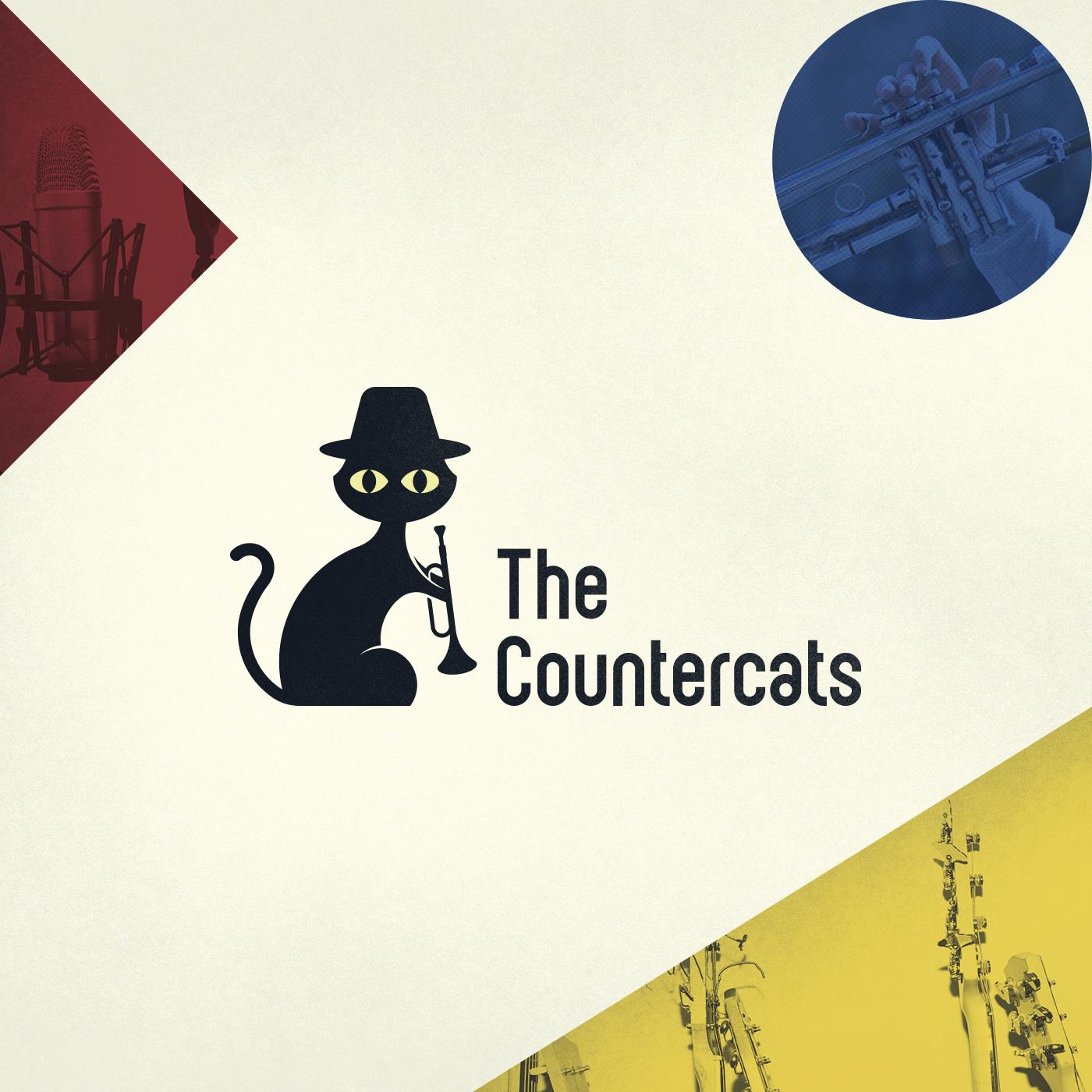 Jazz cat logo