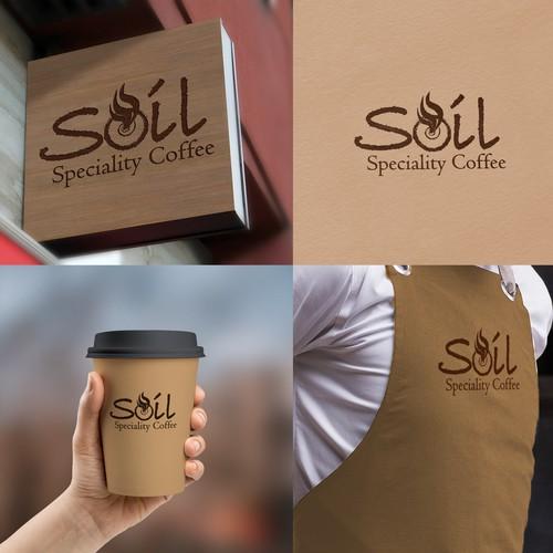 Coffe shop Design Logo