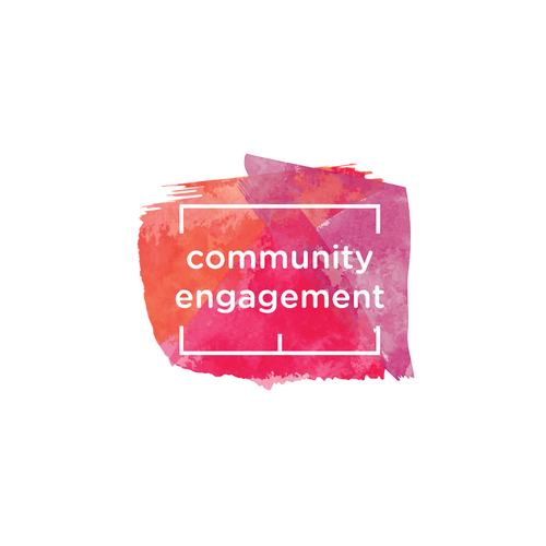 "Logo design for the ""community engagement"" organization"