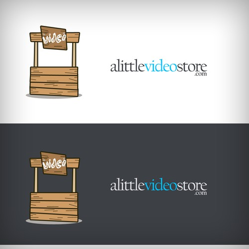 alittlevideostore.com needs a logo!