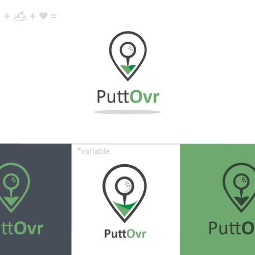 Golf logo icon