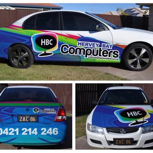 WANTED: Colourful, Eye-catching Car Wrap / Signage