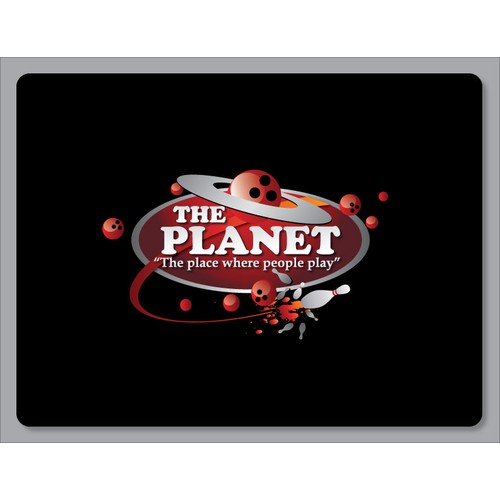 Create the next logo for The planet