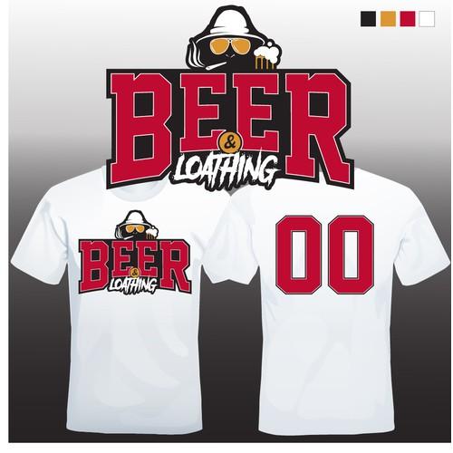 Beer & Loathing Jersey Design